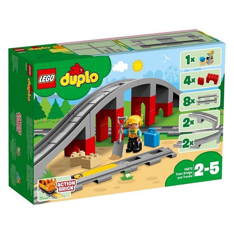 Lego Duplo Tory Kolejowe I Wiadukt 10872 Marki Lego Klocki Lego