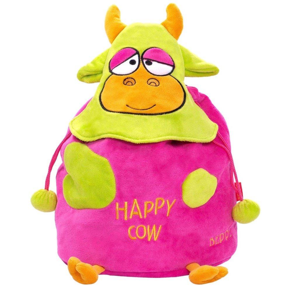 712abc482ade0 12481 Plecak Happy Cow fuksja   PLUSZAKI \ Plecaki pluszowe MARKI ...