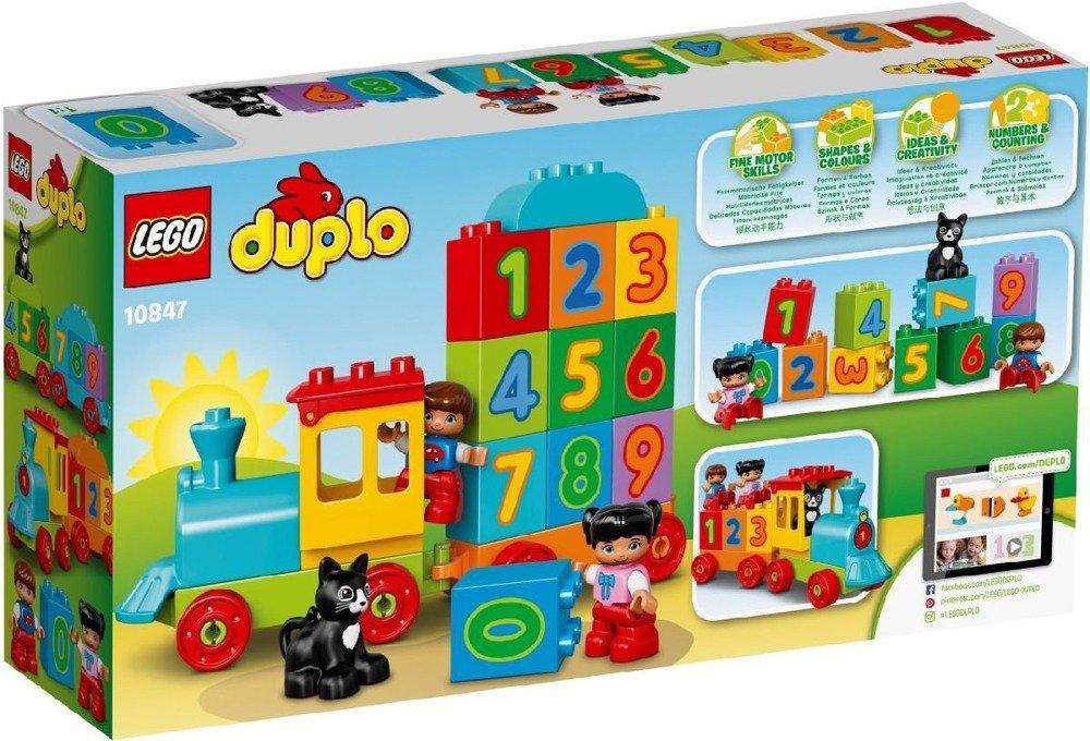 Lego Duplo Pociąg Z Cyferkami 10847 Marki Lego Klocki Lego