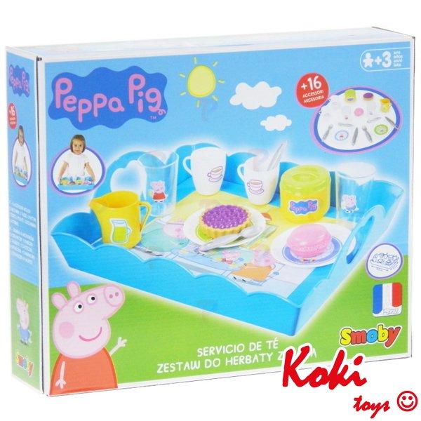 Smoby Taca Z Zastawą świnka Peppa 310530