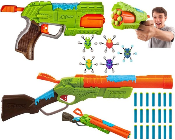 XSHOT BUG ATTACK PISTOLET RAPID FIRE 4804